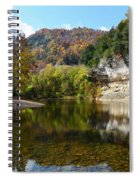Jim Bluff Spiral Notebook
