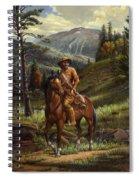 Jim Bridger - Mountain Man - Frontiersman - Trapper - Wyoming Landscape Spiral Notebook