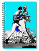 Jim Jeffries Jack Johnson Reno Nevada July 4th 1910-2010  Spiral Notebook