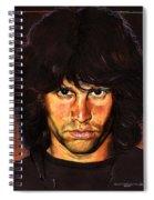 Jim Morrison Spiral Notebook