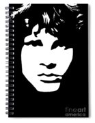 Jim Morrison  Spiral Notebook