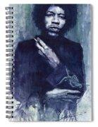 Jimi Hendrix 01 Spiral Notebook