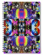 Jimi Kaleidoscope I Spiral Notebook