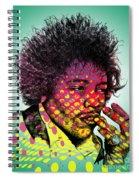 Jimmie Hendrix  Spiral Notebook
