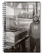 Jimmy At Mt Cube Sugar Farm Spiral Notebook