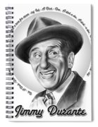 Jimmy Durante Spiral Notebook