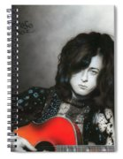 Jimmy Page Spiral Notebook