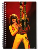 Jimmy Page Painting Spiral Notebook