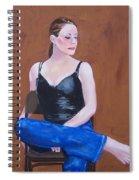 Jo In Chair Spiral Notebook