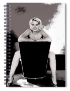 Joan Blondell Warner Brothers Publicity Photo Early 1930's-2014 Spiral Notebook