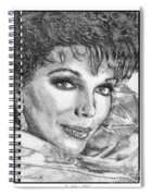 Joan Collins In 1985 Spiral Notebook