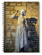 Joan Of Arc Hearing Voices By Francois Rude Spiral Notebook