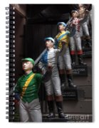 Jockeys Spiral Notebook