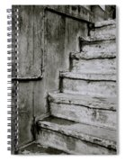 The Monochrome Steps Spiral Notebook