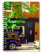 Joe Beef Liverpool House Notre Dame Little Burgundy Restaurant Montreal City Scene Carole Spandau Spiral Notebook