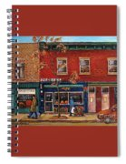 Joe Beef Restaurant Montreal Spiral Notebook