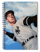 Joe Dimaggio Spiral Notebook