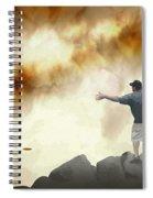Joe Vs. The Volcano Spiral Notebook