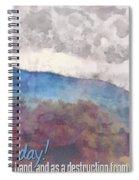 Joel 1 15 Spiral Notebook