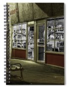 Joe's Barber Shop Spiral Notebook