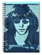 Joey Ramone Spiral Notebook