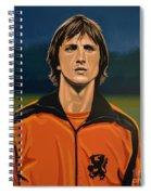 Johan Cruyff Oranje Spiral Notebook