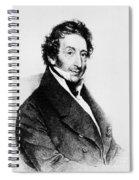 Johann Von Malfatti Spiral Notebook