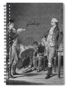 John Andre (1751-1780) Spiral Notebook