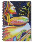 John Butler And Moon Spiral Notebook