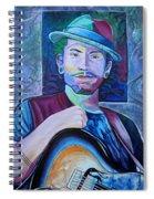 John Butler Spiral Notebook