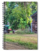 John Deere - Old Tractor Shed Spiral Notebook