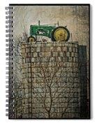 John Deere Parking Only Spiral Notebook
