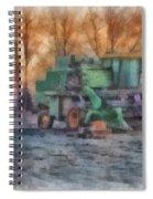 John Deere Photo Art 01 Spiral Notebook
