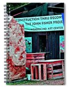 John Fisher Project Spiral Notebook