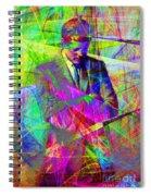 John Fitzgerald Kennedy Jfk In Abstract 20130610 Spiral Notebook