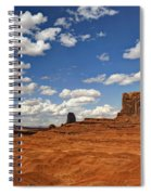 John Ford Point - Monument Valley  Spiral Notebook
