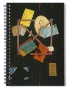 Old Time Card Rack Spiral Notebook