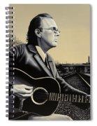 John Hiatt Painting Spiral Notebook