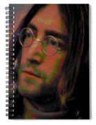 John Lennon 2 Spiral Notebook