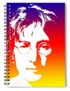 John Lennon The Legend Spiral Notebook