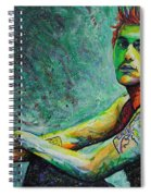 John Mayer Spiral Notebook