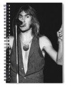 John Schlitt 12 Spiral Notebook