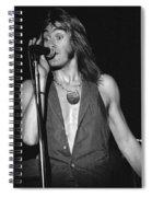 John Schlitt 20 Spiral Notebook