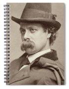 John Sidney Woollett (1845-1917) Spiral Notebook