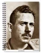 John Steinbeck American Author Circa 1938 Spiral Notebook