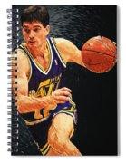 John Stockton Spiral Notebook