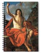 John The Baptist Spiral Notebook