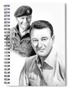 John Wayne Spiral Notebook