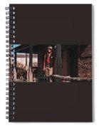 John Wayne Porch Of His Sheriff's Office Rio Bravo  Old Tucson Arizona 1959-2013 Spiral Notebook