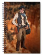 John Wayne The Cowboy Spiral Notebook